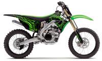 polepy 'PoisonousSpider' na motorku KAWASAKI