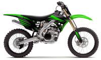 polepy 'Stylus' na motorku KAWASAKI